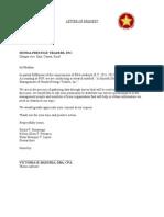 Pldt authorization letter sample letter of request spiritdancerdesigns Gallery