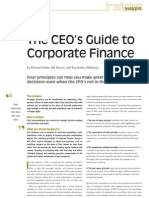 The CEO's Guide to Corporate Finance_TMI192_P33-38_McKinsey
