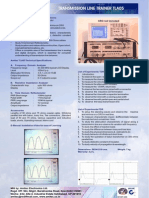 30-300 Mhz Transmission Line Trainer Tla05
