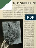 How to Fingerprint a Snowstorm (1943)