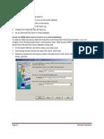 Odbc Setup Guide