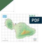 Maui Drive Map