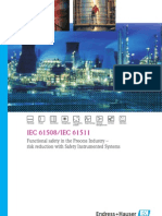 IEC 61508 / IEC 61511 SIL presentation