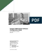 3560 Config Guide IOS12.2(37)SE