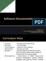 Standar Dokumentasi Software
