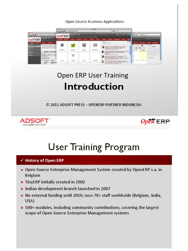 ADSOFT FT6 - 01  Introduction | Enterprise Resource Planning