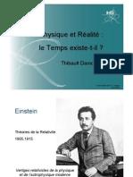 Physique et Réalité - Le Temps existe-t-il