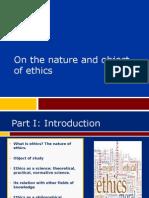 Ethics Class 1.2 2011