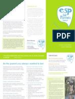 ESP for Parents Course Brochure