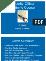 Guard Course Part 1