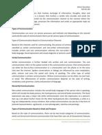Communication Assignment Alston