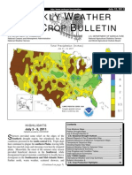 USDA Weekly Crop Bulletin July 12,2011