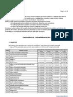 Calendario Examens 2010-2011