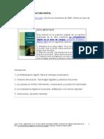 Alfabetizar en la cultura digital-Tíscar Lara-Competencia Digital Lengua-2008