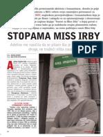 Stopama Miss Irby Slobodna Bosna