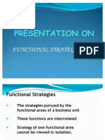 Functional Strategies 1