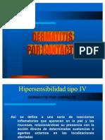 hIPERSENSIBILIDAD TIPO IV Dermatitis y its Contacto
