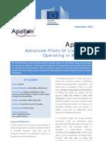 Apollon Publishable Summary