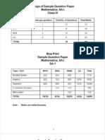 Sqp Math Term-1 31.08