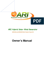ARI Tower Kit User s Manual