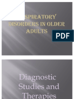 Respiratory Disorders in Older Adults