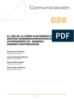 El Uso de La Firma Electronic A