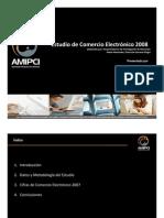 estudio sobre comercio electrónico 2008