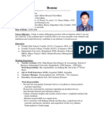 CV-Arman Chowdhury Updated