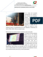 Encuentro Iberoamericano de Juventudes Informe
