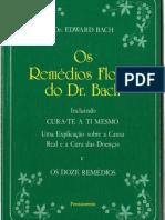 Os Remédios Florais do Dr. Bach-Ed. Pensamento