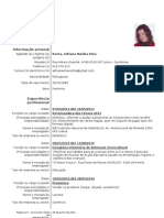 Curriculum Europeu (Adriana Rocha)