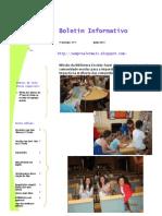 Boletim da EB 2,3 - 3º período 2010-11