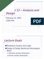 Design of SRB