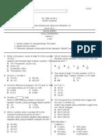 Soalan Matematik Kertas 1 Tahun 4 July