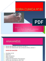 Historia Clinica Lazarte Doctor Llique