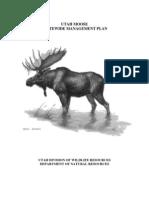Utah Moose Statewide Management Plan