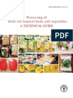 BOOK Fresh-cut Tropical Fruits and Vegetables