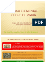 Curso elemental sobre el jamón