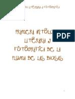 PRIMERA ANTOLOGÍA LITERARIA Y FOGRÁFICA DE LA PLUMA DE LAS DIOSAS