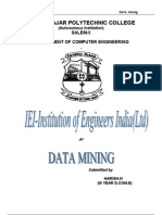 Paper on Data Mining