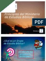 2. Grupos de Estudio Bíblico