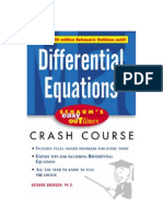 Differential Equations (Richard Bronson)
