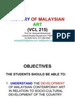 Malaysian Art (Vcl 215) 1
