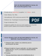Test Reconcocimiento Facial