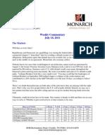 The Monarch Report 7-18-11