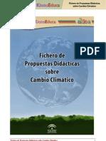Fichero de propuestas didácticas sobre cambio climático