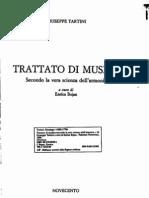 Tartini, Trattato di musica