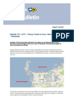 Report of Incidents of Piracy in Puerto La Cruz Venezuela