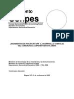 Lineamientos de Politica Para El Desarrollo e Impulso Del Comercio Electronico en Colombia 2009