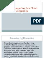 Grid Computing Dan Cloud Computing